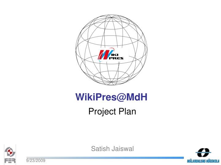 WikiPres@MdH