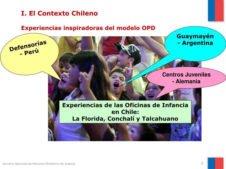 I. El Contexto Chileno