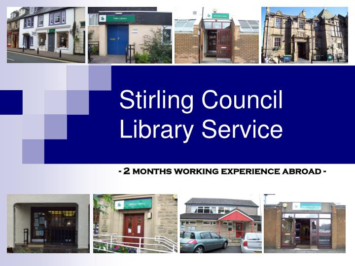 stirling council library service