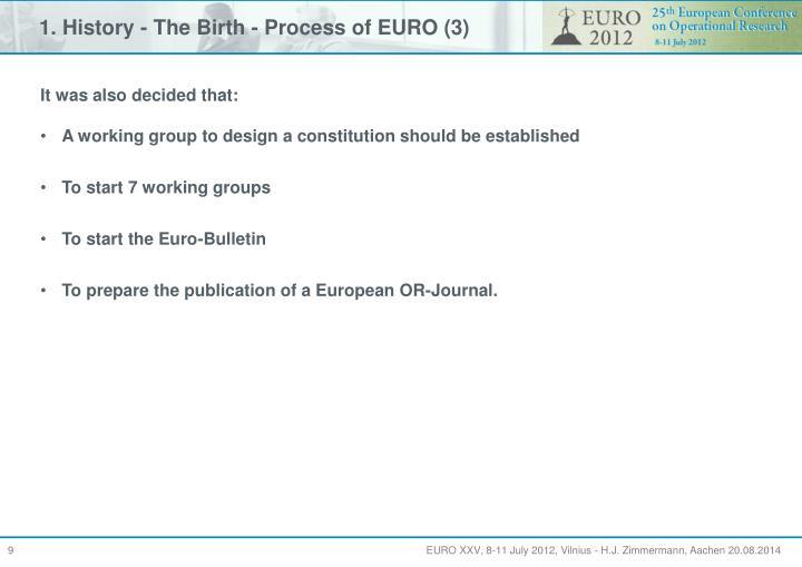 1. History - The Birth - Process of EURO (3)