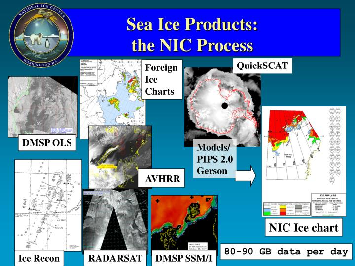 Sea Ice Products: