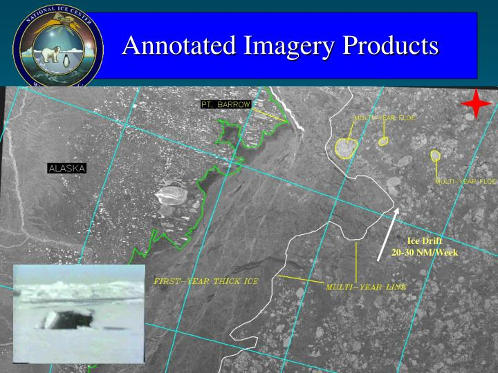 Annotated Imagery Products