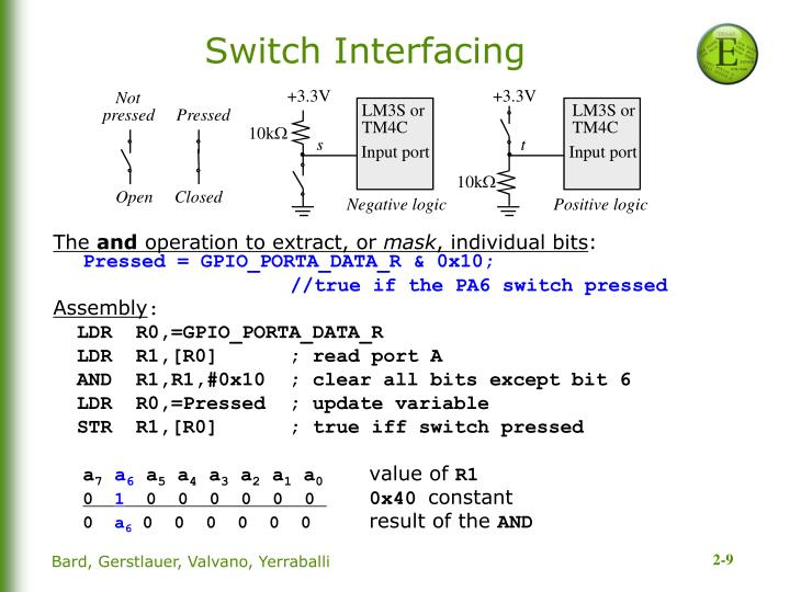 Switch Interfacing