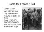 battle for france 1944