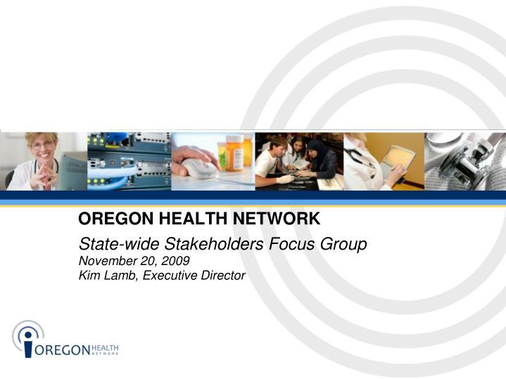 oregon health network n.
