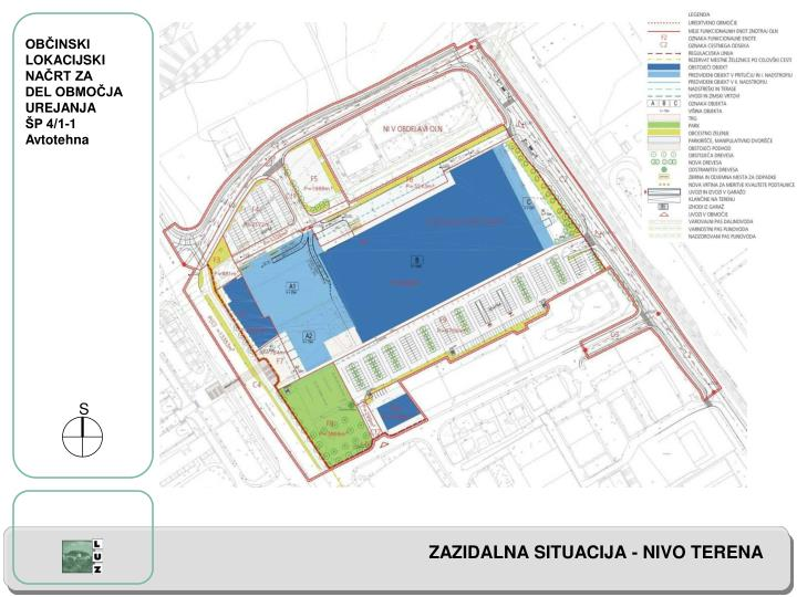 Naro nik prostorske dokumentacije poslovni sistemi mercator d d dunajska 107 ljubljana
