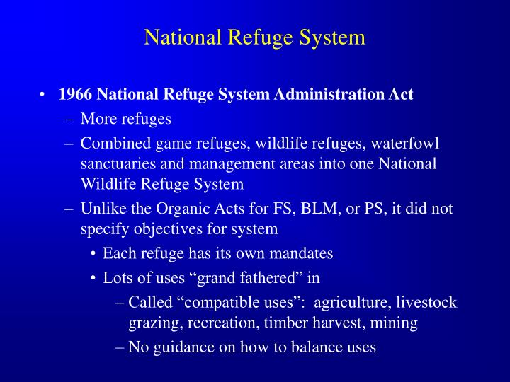 National Refuge System