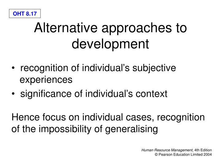recognition of individual's subjective