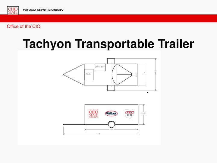 Tachyon Transportable Trailer