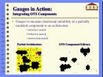 gauges in action integrating ots components