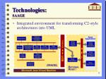 technologies saage