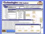 technologies uml analyzer