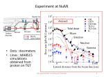 experiment at numi1