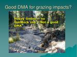 good dma for grazing impacts1