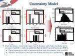 uncertainty model