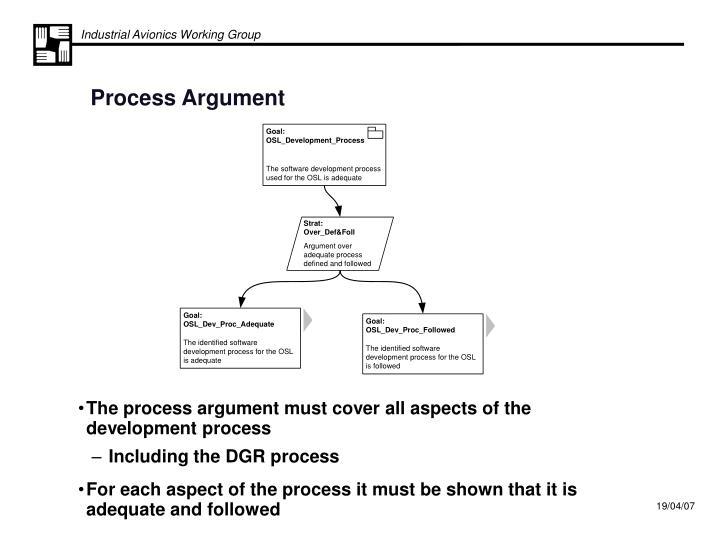 Process Argument