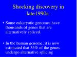 shocking discovery in late1990s