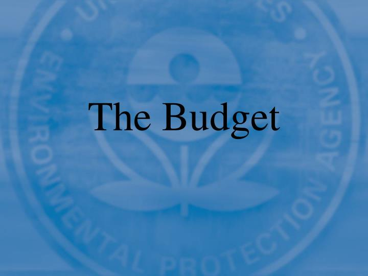 The budget1