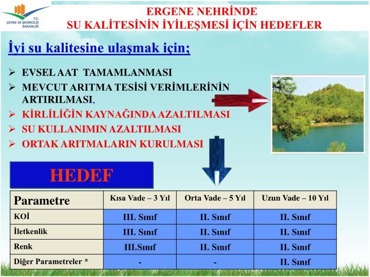 ERGENE NEHRİNDE