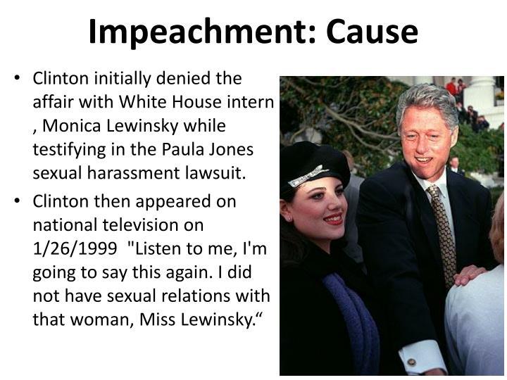 Impeachment: Cause