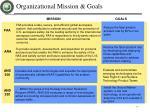organizational mission goals