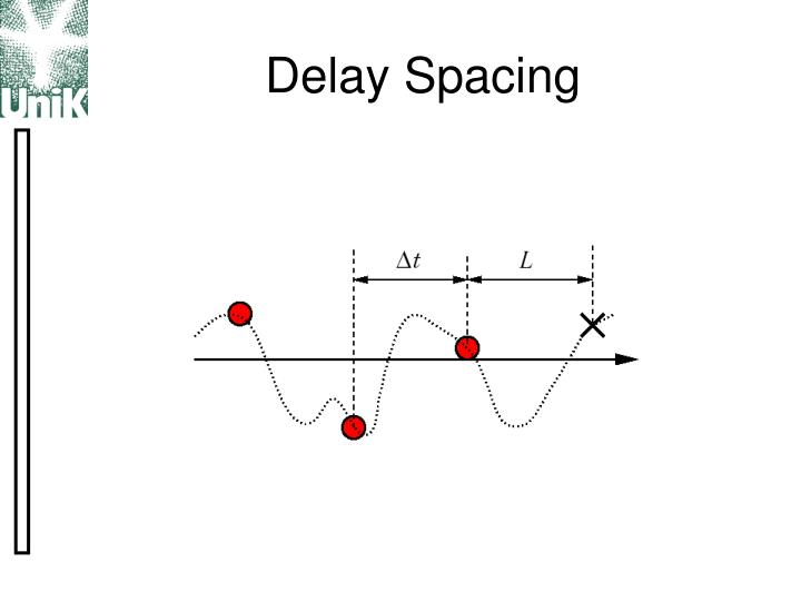 Delay Spacing