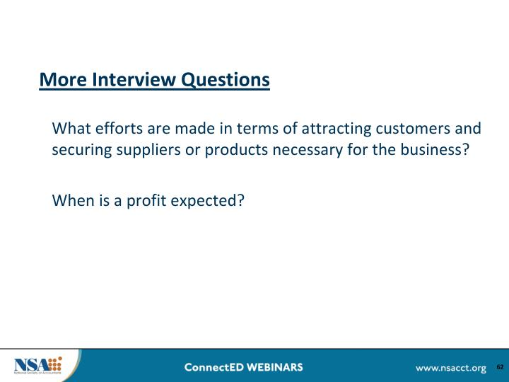 More Interview Questions