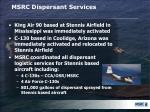 msrc dispersant services