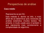 perspectivas de an lise2