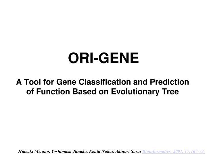 Ori gene