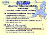 regional interoperability solutions