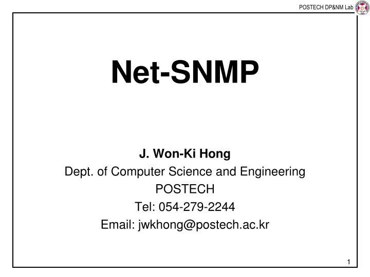 Net snmp