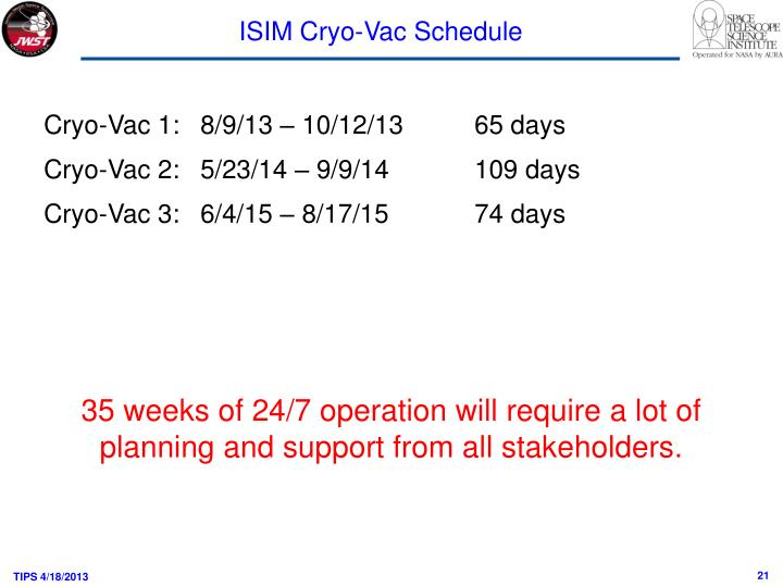 ISIM Cryo-