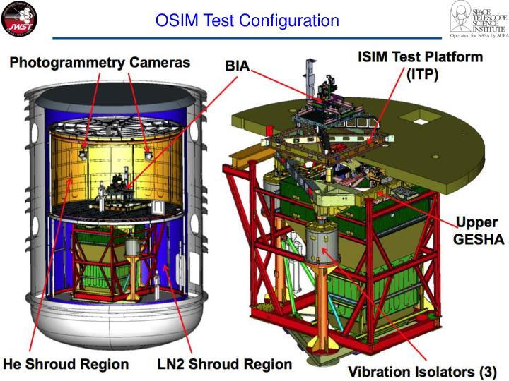 OSIM Test Configuration
