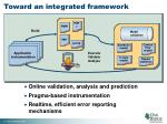 toward an integrated framework