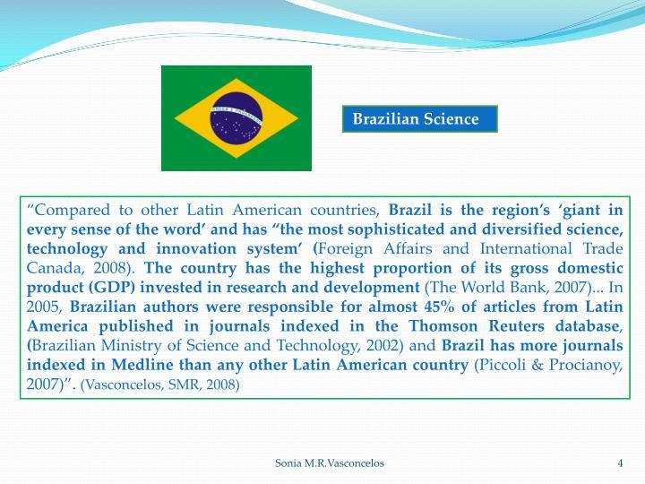 Brazilian Science