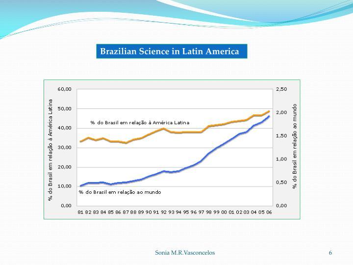Brazilian Science in Latin America