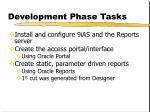 development phase tasks1
