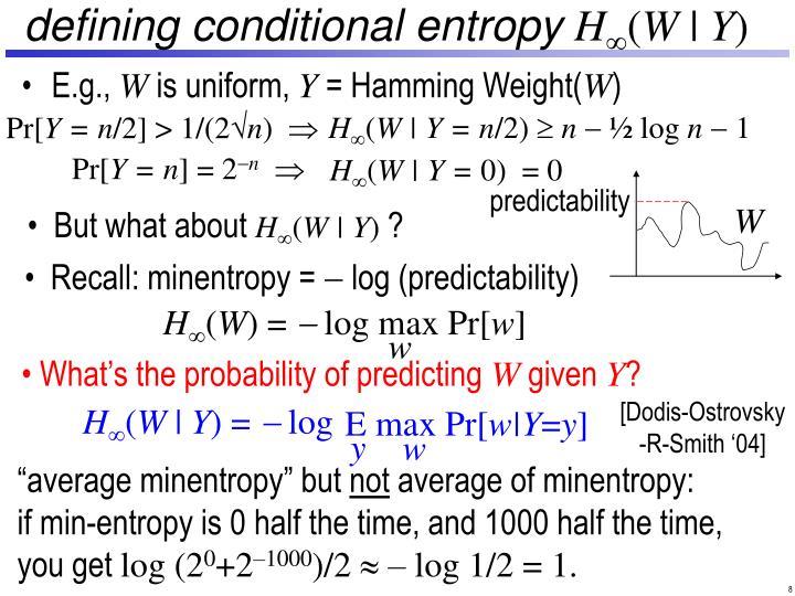 defining conditional entropy