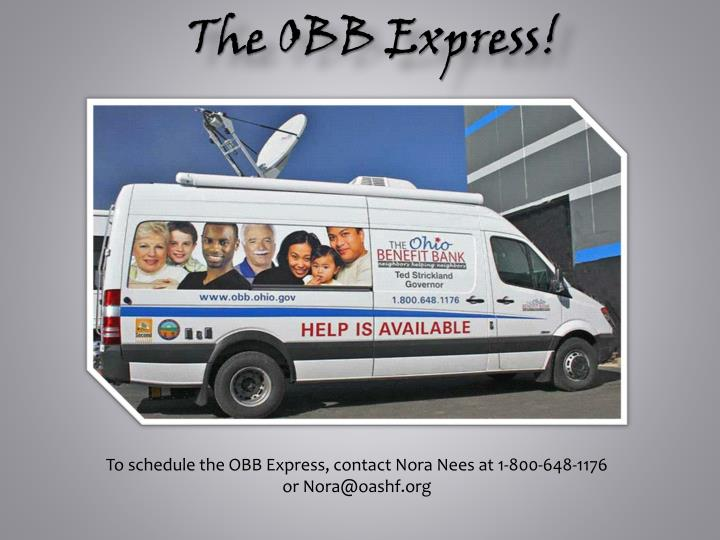 The OBB Express!