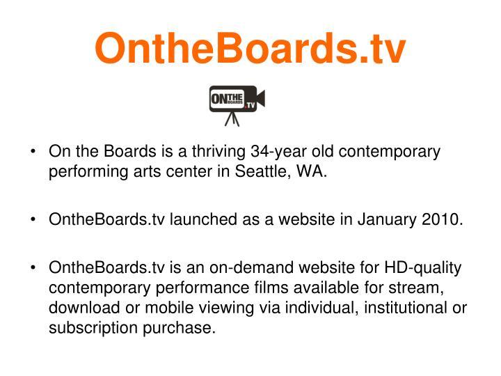 Ontheboards tv