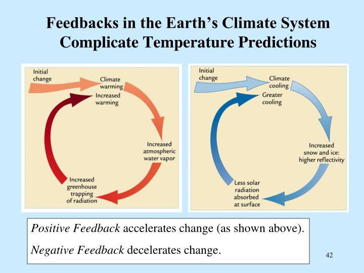 Feedbacks in the Earth's Climate System Complicate Temperature Predictions