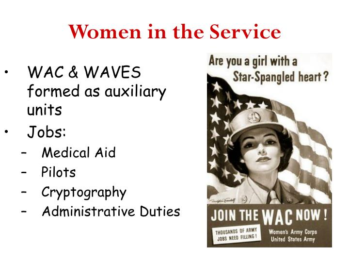 Women in the Service