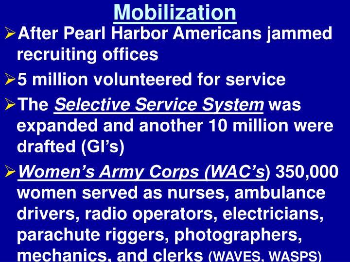 Mobilization