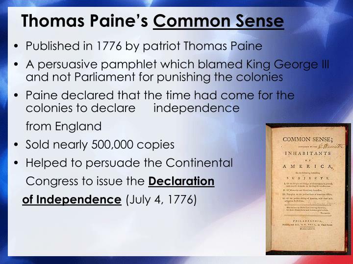 Thomas Paine's