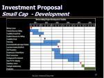 investment proposal small cap development1