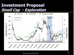 investment proposal small cap exploration