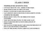 class c dyes