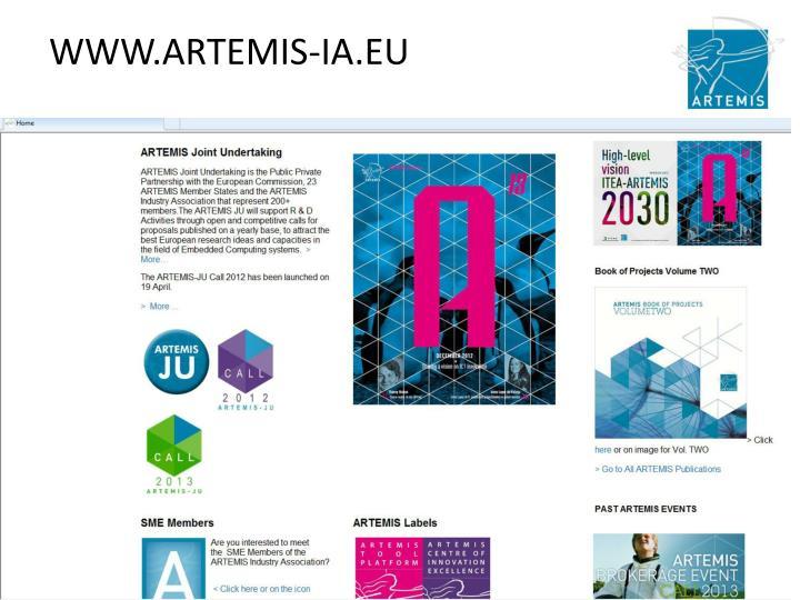 WWW.ARTEMIS-IA.EU