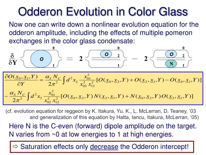 Odderon Evolution in Color Glass